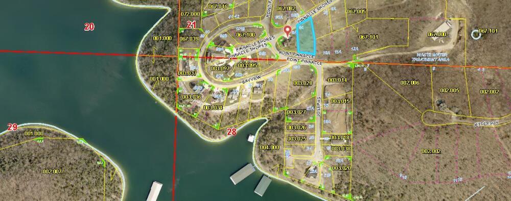Lot 8A Pinnacle Shores Drive Lampe, MO 65681