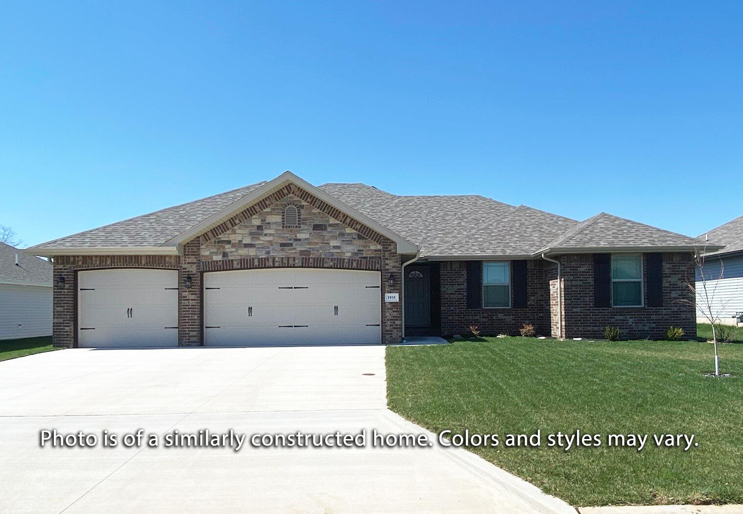 6120 South Brookside Lane UNIT Lot 27 Battlefield, MO 65619