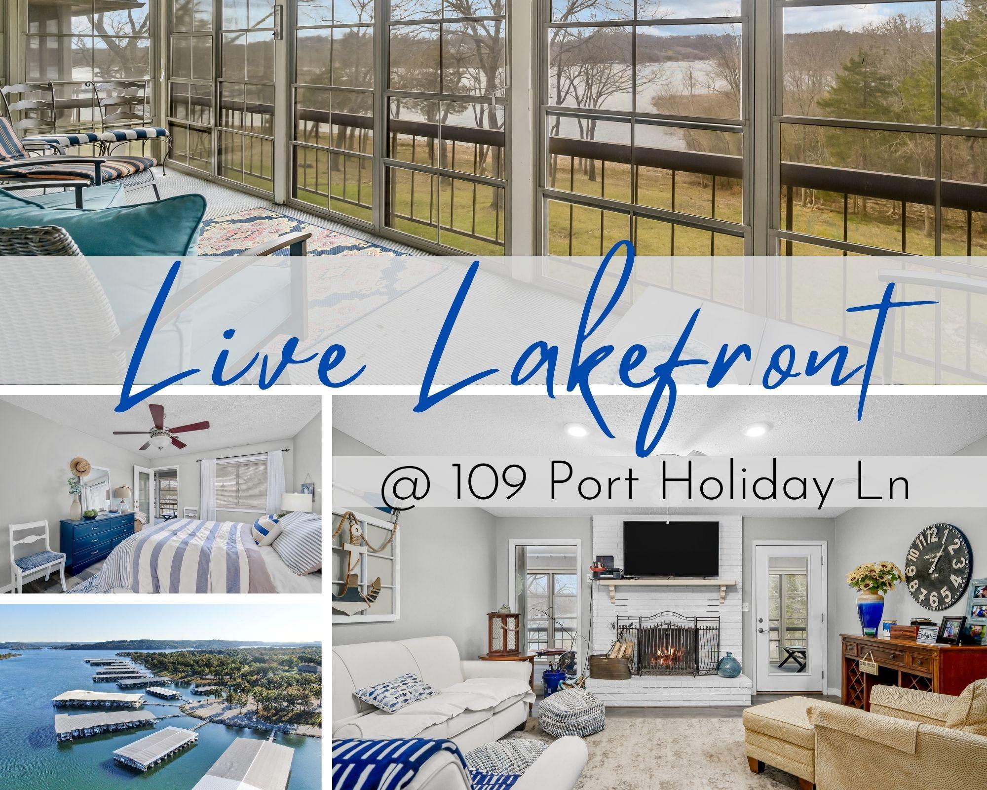 109 Port Holiday One Lane UNIT G Kimberling City, MO 65686