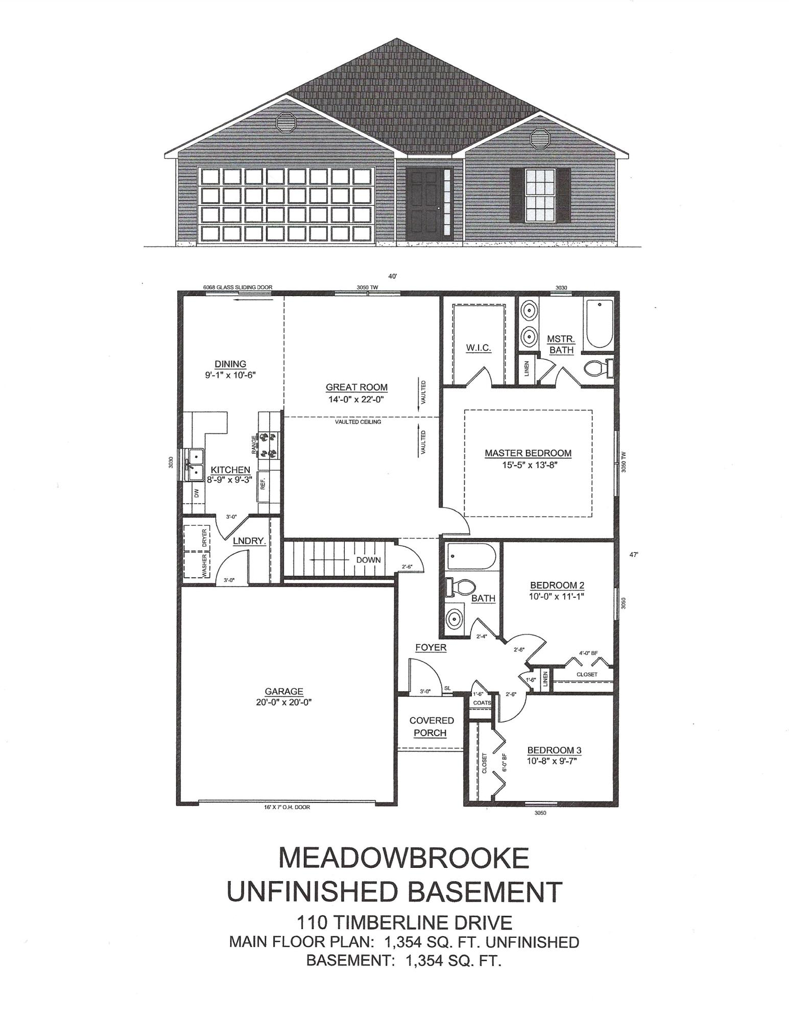 110 Timberline Drive UNIT Lot 14a Forsyth, MO 65653