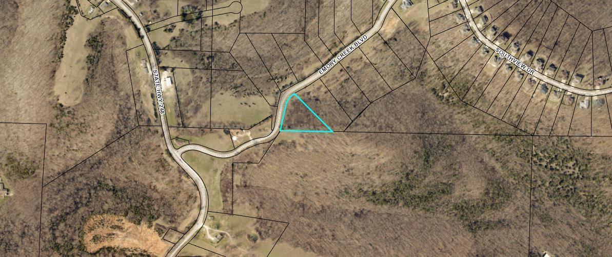 374 South Emory Creek Road UNIT Lot 1 Branson, MO 65616