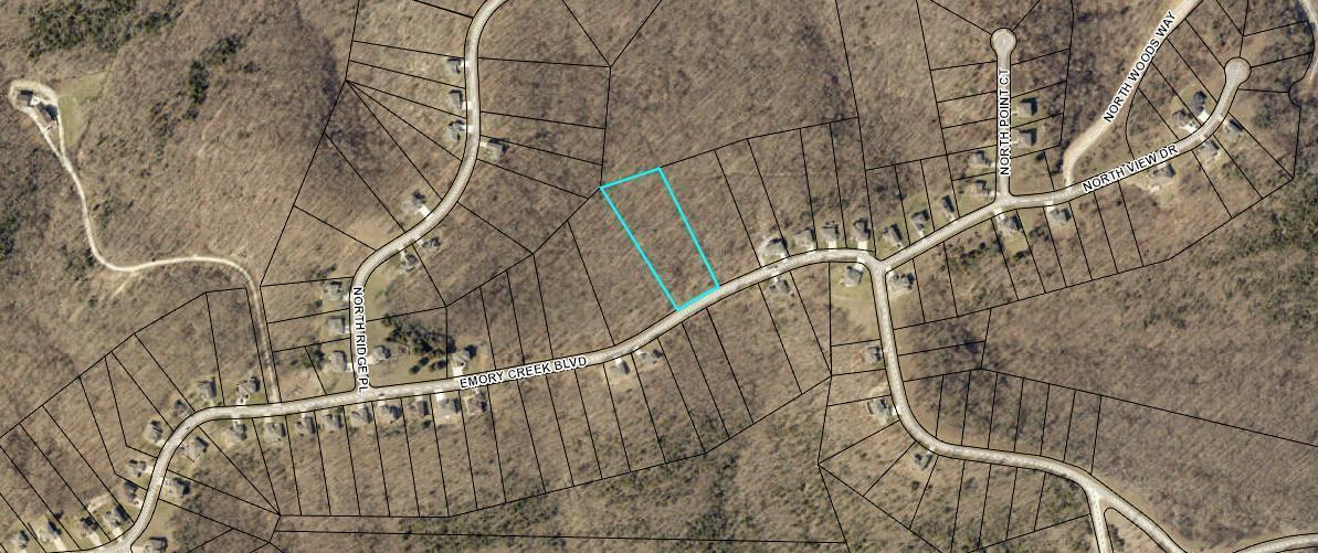 1321 Emory Creek Boulevard UNIT Lot 100 Branson, MO 65616