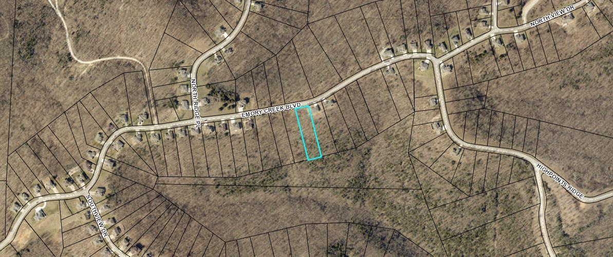 1238 Emory Creek Boulevard UNIT Lot 87 Branson, MO 65616