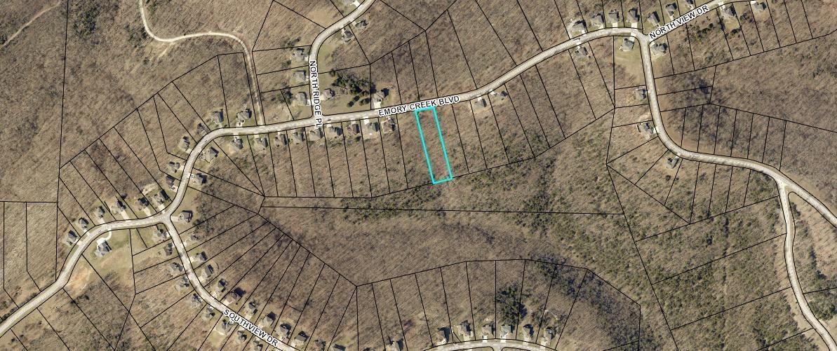 1186 Emory Creek Boulevard UNIT Lot 85 Branson, MO 65616