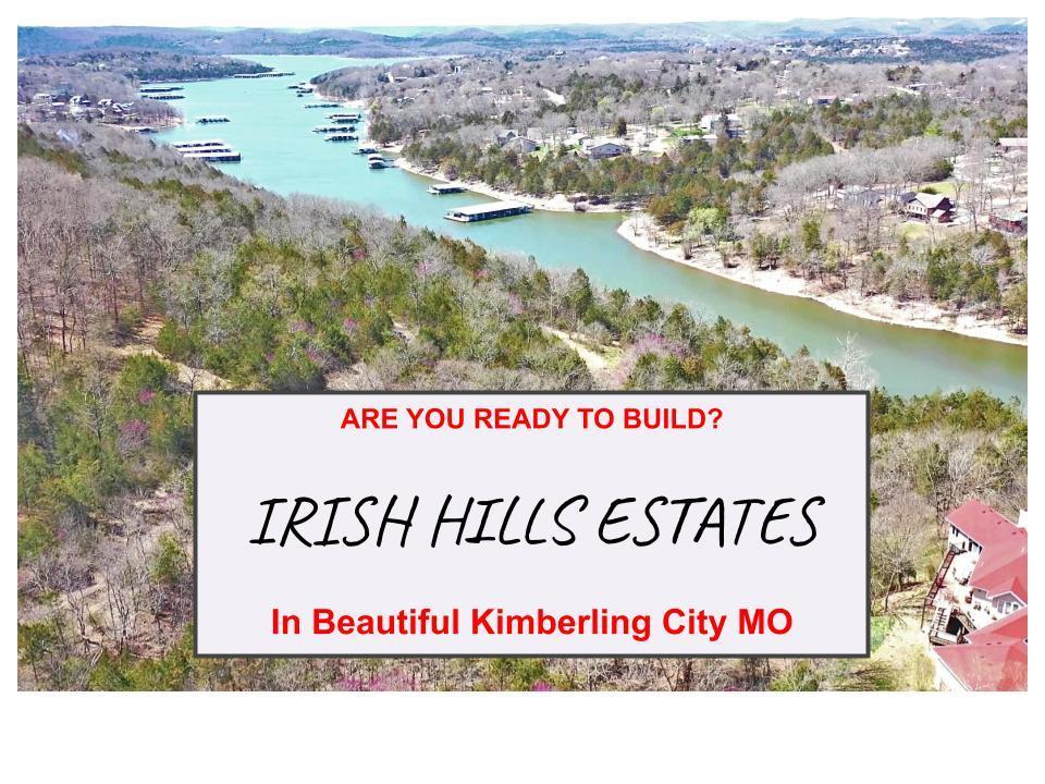Tbd Irish Hills Boulevard Kimberling City, MO 65686