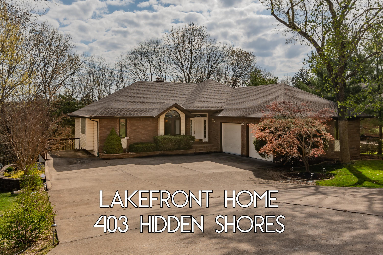403 Hidden Shores Drive Branson West, MO 65737