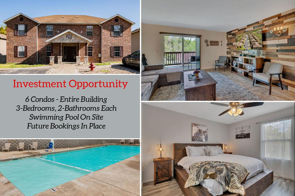 2960 Vineyards Parkway UNIT 1,2,3,4,5,6 Branson, MO 65616