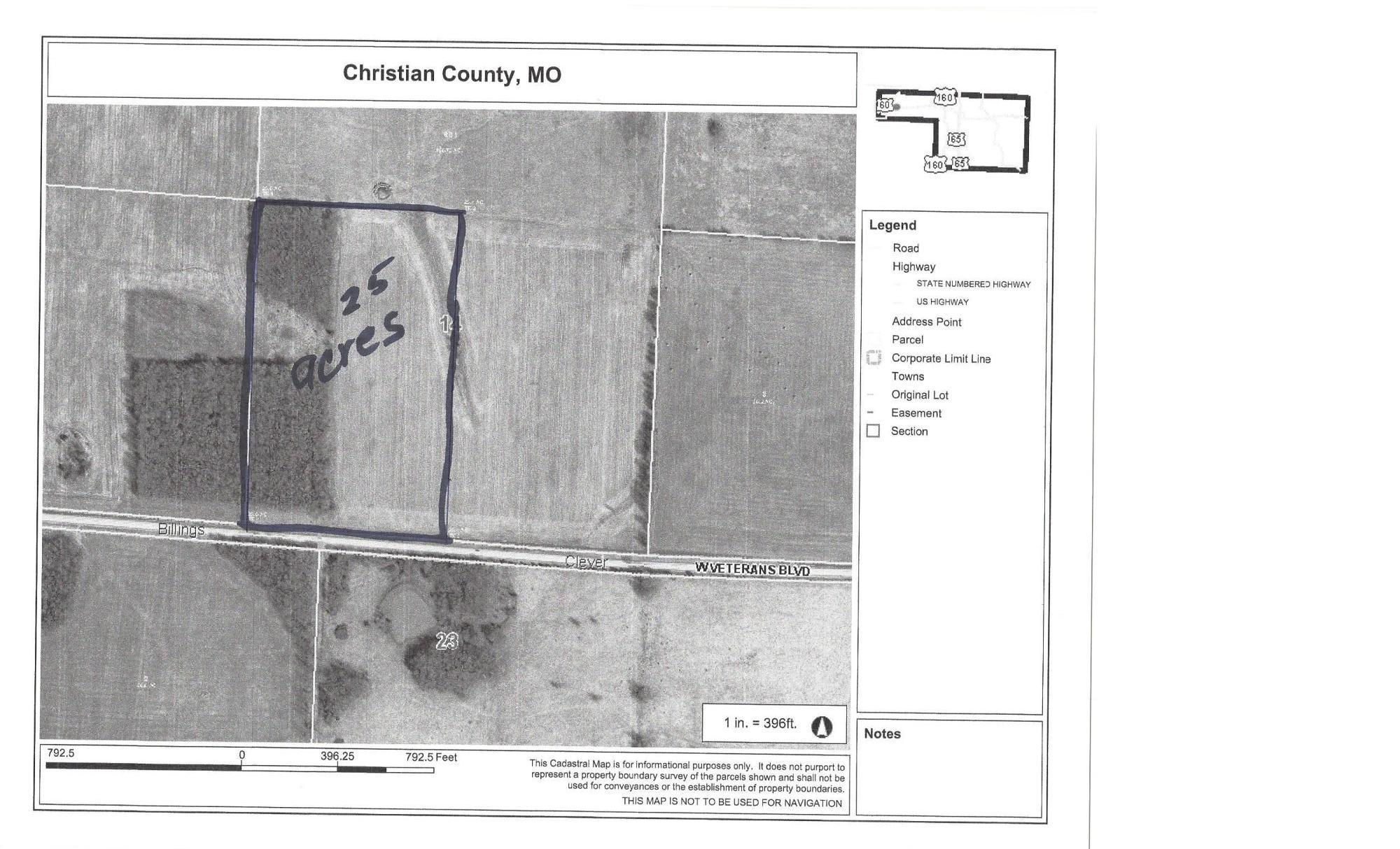 Tbd West Veterans Boulevard Clever, MO 65631
