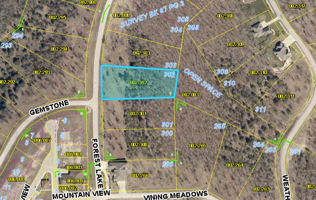 Property for sale at Lot 302 Forest Lake, Branson West,  Missouri 65737