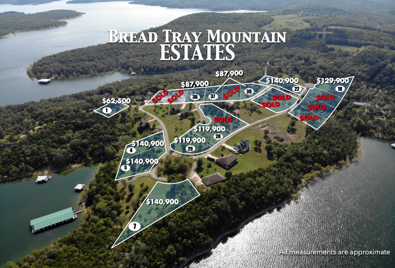 Lot 7 Bread Tray Mountain Estates Lampe, MO 65681