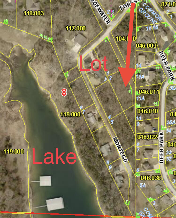 Property for sale at 000 Lot 4 Montego Drive, Kimberling City,  Missouri 65686