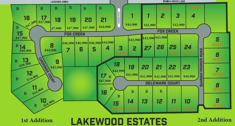 Lot 2 Lakewood Estates 2nd Addition Rogersville, MO 65742