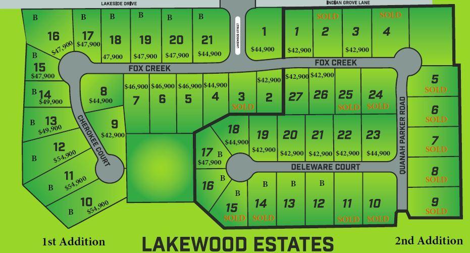 Lot 5 Lakewood Estates 2nd Addition Rogersville, MO 65742