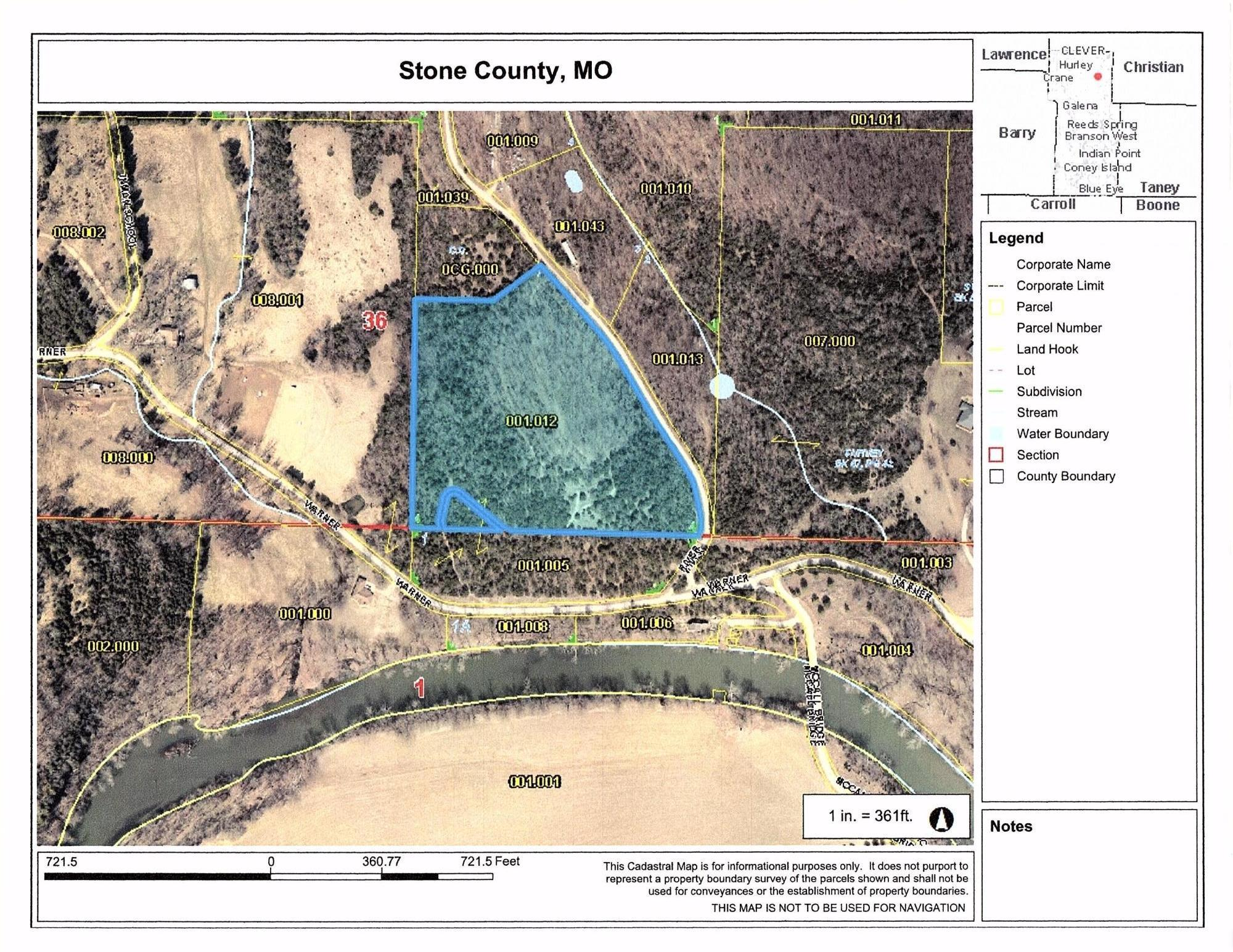 000 River Drive Crane, MO 65633