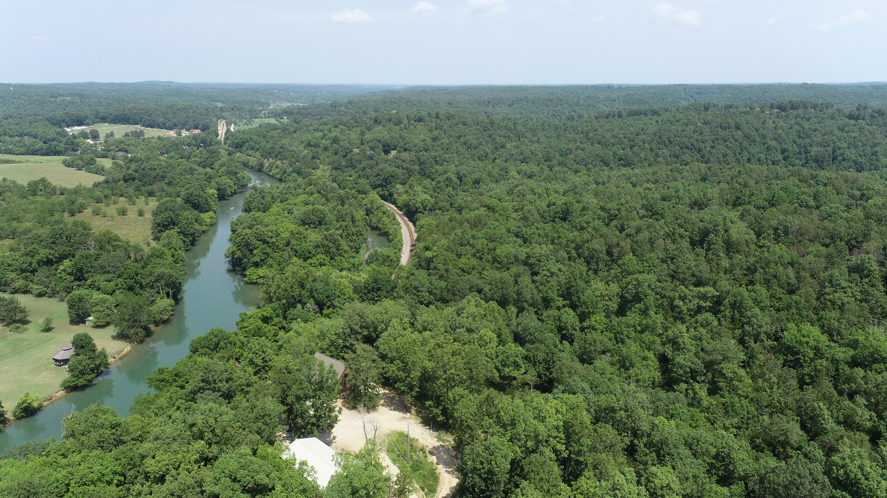 Aerial River view