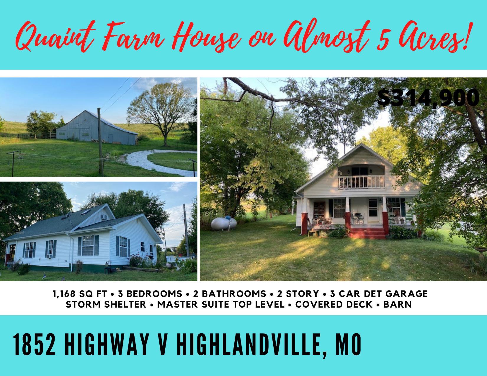 1852 State Hwy V Highlandville, MO 65669