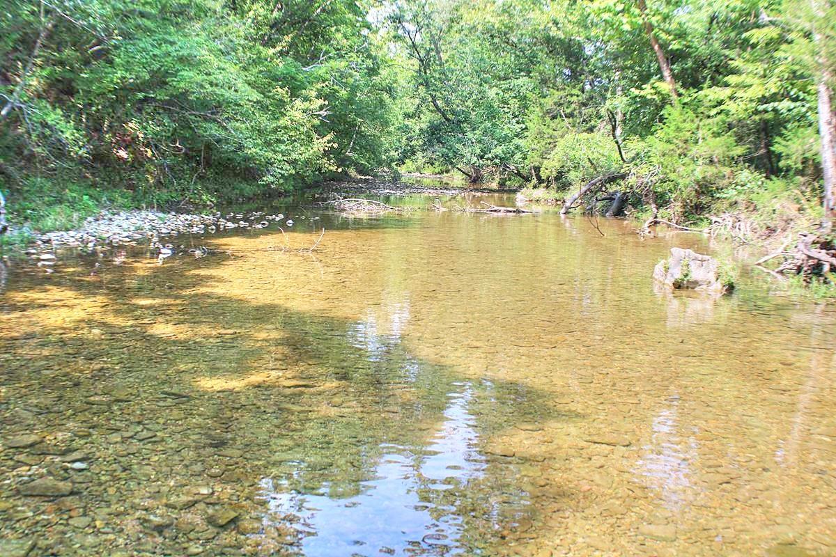 Year round Spring fed Caney Creek