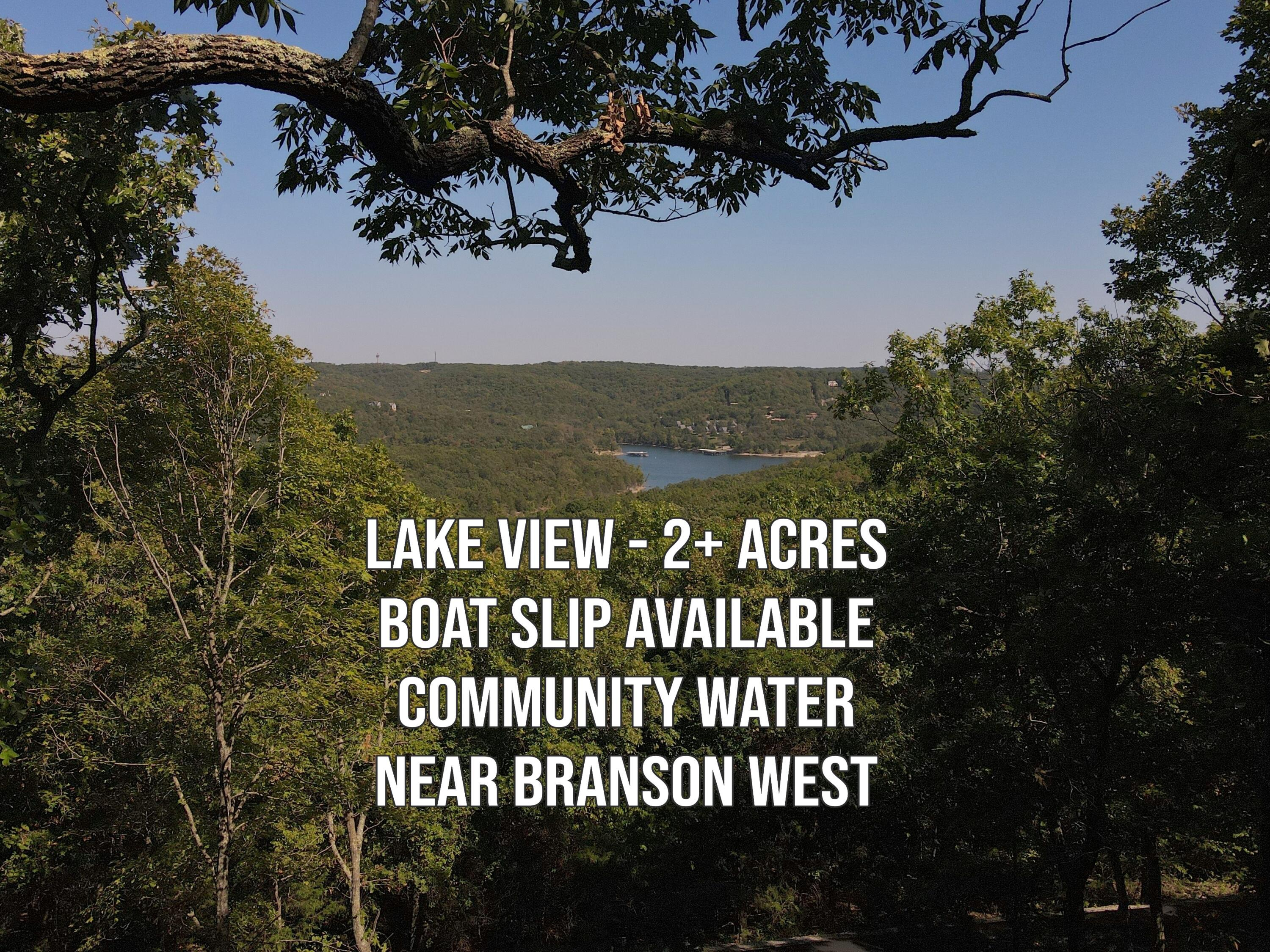 Lots19&20 Acoma Drive Branson West, MO 65737