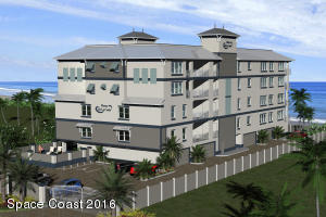 Brand New Construction to be built on the Ocean Front 1/2 mile north of the Cocoa Beach Pier