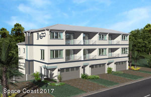 On the corner of Wilson Ave and Turtle Beach. 3 Story town homes with ocean views and optional elevators.