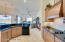 Designer Kitchen - Wood Hood Undercounter Lighting