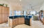 Granite Counter tops - Maple Cabinets with Glaze - Built in Pantry