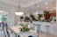Dining Area off Kitchen...Open floor plan