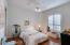 Guest Bedroom #2 - large & spacious beautiful wood floors