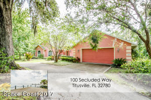 100 Secluded Way, Titusville, FL 32780