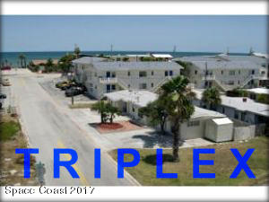 WOW! Look at the this Location! Name of Triplex is OCEAN WALK b/c it will take you less than 5 minutes to walk across A1A to set up your chair for BEACH THERAPY!