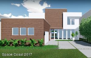 Luna, Lot 10A Modern Duran, Front Elevation