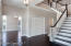 Entry Light Fixture + Stunning Stairway Chandelier