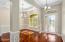 12 foot ceilings in foyer