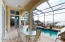 Sunny Covered Lanai for Entertaining