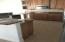Another view of kitchen cabinets
