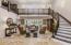 Living Room / Grande Stairway