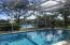 Sparkling, Screened Patio Pool Area!
