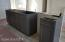 Kitchen Island/Bar w/ Shaker Cabinets. Opens to great room
