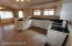 remodeled kitchen and open floor plan