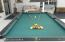 POOL TABLE WITH NEWER FELT