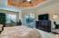 Master Suite - Overlooks Pool Area