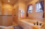 Master Bath With Soaking Tub And Large Walk-In Shower