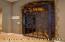 Wrought Iron Wine Cellar