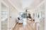 Family Room / Flex Room with Bamboo Flooring, Balcony and Wet Bar Area