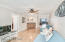 Family Room / Flex Room with Gorgeous Bamboo Floors, Wet Bar Area and Balcony