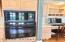 Oven & Convenient Desk Area!