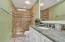 Totally Remodeled Guest Bath- Tall Vanity with Granite