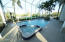 Jacuzzi and large pool