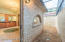 Encased Brick Privacy Wall for Complete Seclusion in the Master Retreat