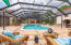 30,000 Gallon Saltwater Pool with Brand New Solar System